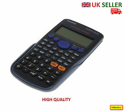 New Casio FX-83GT Plus 260 Functions Scientific Calculator Black Colour - UK