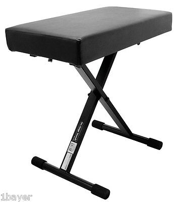 Stage Music Instrument Studio Concert Guitar Piano Organ Keyboard Pad Seat Bench
