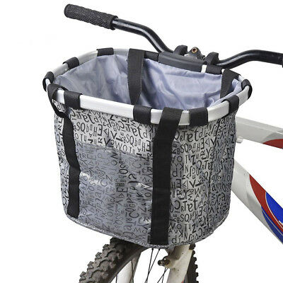 Bicycle Print Basket Removable Dog Carrier Pet Bag  Accessory