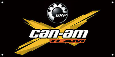 BRP Can Am Team Logo Vinyl Banner Sign Printed