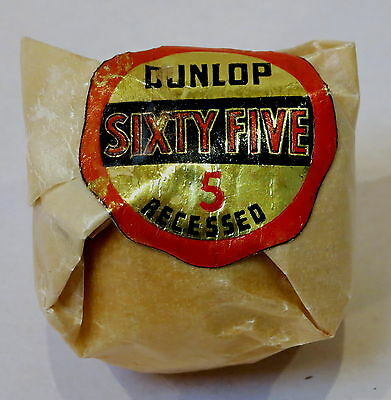 Vintage Dunlop Sixty Five 5 Recessed Golf Ball New In Wrapping