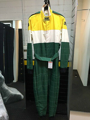 RPM Ultra Kart Suit Yellow/Green/White