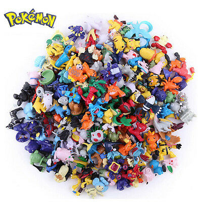 1/12/24Pcs Wholesale Mixed Lots Pokemon Mini Random Pearl Figures Kids Toys Gift