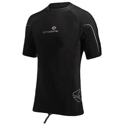 Lavacore Scuba, Snorkeling, and Water Sports Short-Sleeve Shirt for Men - Medium