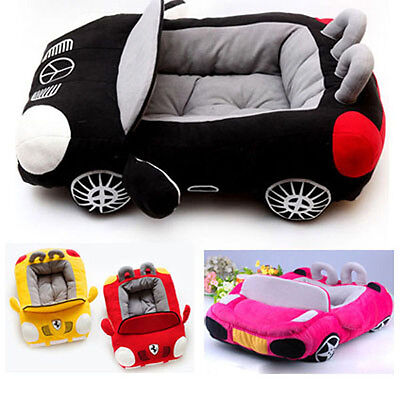 Cool Pet Dog Car Beds PP Cotton Pad Soft Warm Mat Small Puppy Sofa Bed House New