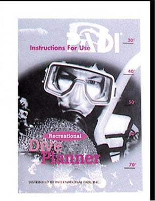 Recreational Diving Planner Instruction Guide