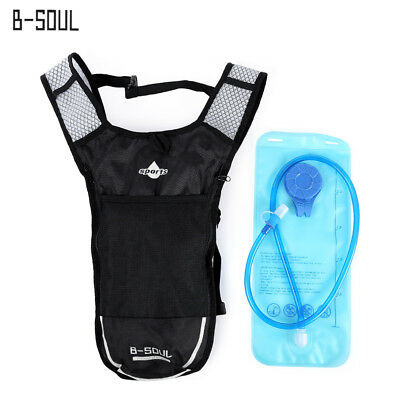 B - SOUL 2L Water Bag 5L Bicycle Hydration Bladder Backpack Camping Camelback