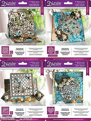 "Crafters Companion Die'sire Create A Card 4.2"" Dies FREE UK P&P"