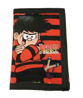New Official Dennis The Menace Boys Trifold Money Change Notes Wallet Purse Gift