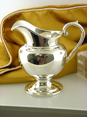 "Gorham Sterling Cream Pitcher Creamer Number 454 Puritan  Mono ""F"""