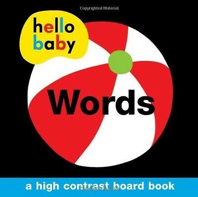 Words (Hello Baby) Roger Priddy New Book