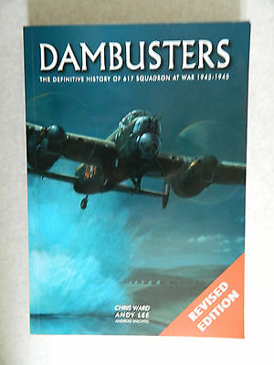 Dambusters The Definitive History 617 Squadron signed Johnson & Quinney