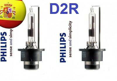 2X Bombillas Lamparas Xenon Philips D2R Original 35W 85126