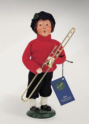 Byers Choice Salvation Army Boy with Trombone (4414C)