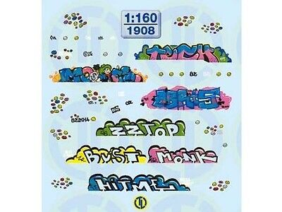 TL-Decals 1908 - Graffiti Decals - Spur N - NEU