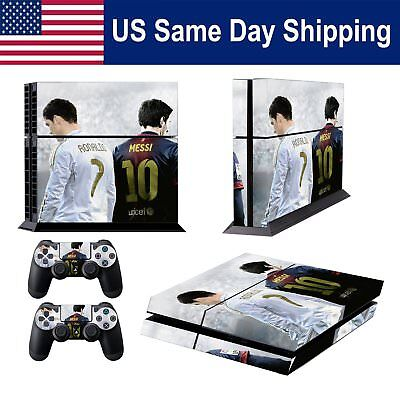 Football Skin for PS4 Set & Controller Decal playstation 4 Sticker-Panini Messi
