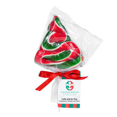 NEW Connoisseur Collection Christmas Tree Lollypop 60g
