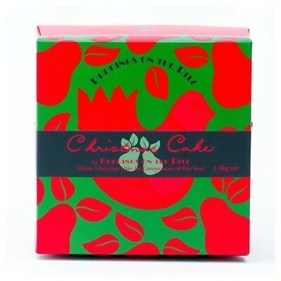 NEW Puddings on the Ritz Christmas Cake in Box 250g,500g,1.4kg