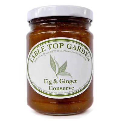 NEW Table Top Garden Fig & Ginger Conserve 300g