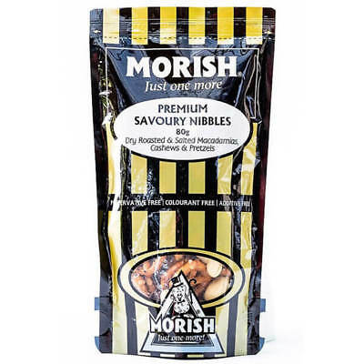 NEW Morish Savoury Nibbles 80g