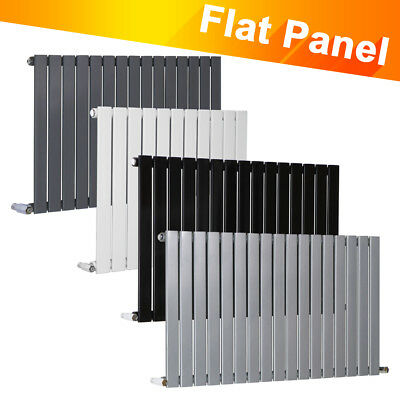 Horizontal Flat Panel Single Column Designer Modern Radiators Central Heating