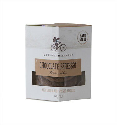NEW Connoisseurs Collection Chocolate Espresso Biscuits 60g