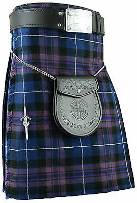 Pride of Ecosse Kilt De Mens écossais Kilts Costumes traditionnels écossais