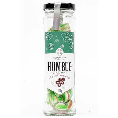 NEW Connoisseur Collection Humbugs Choc Mint Choc Centered 110g