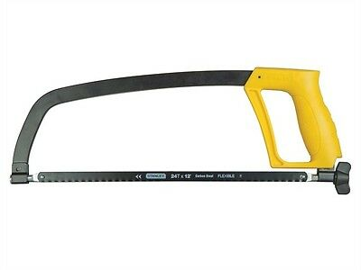 Stanley Hacksaw Frame With Blade 1-15-122 New
