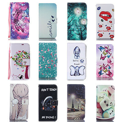 Flip Wallet Pu Leather Case Stand Cover For Samsung Galaxy Phones