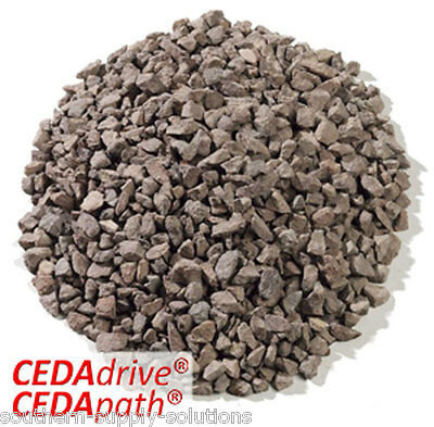 Red Porphry 14mm Aggregate Chippings Drive borders landscape stone bulk or 25kg
