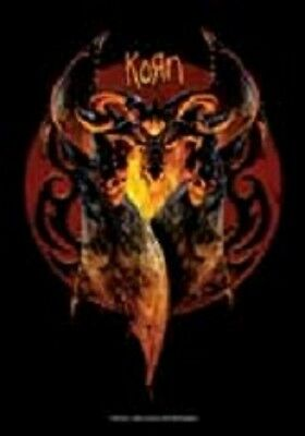 Korn  Music  Flags Wall Hanger Made In Italy Licensed Silk Screened  L