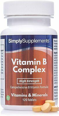 Complexe Vitamines B - 120 Comprimés - Simply Supplements