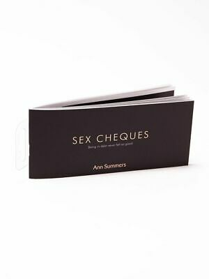Ann Summers Sex Cheques Erotic Sexy Funny Naughty Party Game Novelty Gift