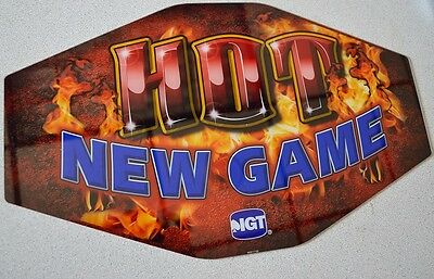SLOT MACHINE topper insert- HOT NEW GAME - IGT