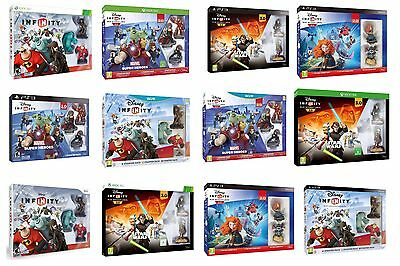 Disney Infinity Starter Pack Game Set 1.0 2.0 3.0 Ps 3 Ps 4 Xbox 360 One Wii U