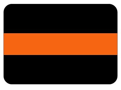 Search and Rescue Thin Orange Line Reflective Decal Sticker