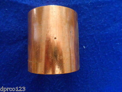 """Nibco 4"""" C X C Wrot Copper Coupling W/dimple Stop """"top Quality"""" Free S/h"""
