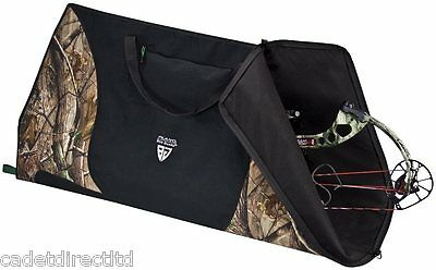 Plano Bow Guard 93785 Soft Bow Case Realtree AP camouflage with storage pocket