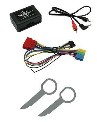 Connects2 CTVADX001 + Keys Aux Input MP3 iPod Android Audi A4 B7 05-08