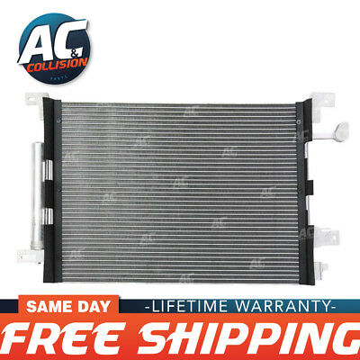 COF133 3791 A/C AC Condenser For Ford Mustang Base GT Shelby V6 V8