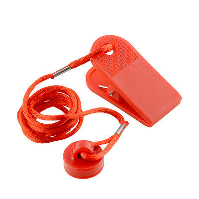 Running Machine Safe Key Treadmill Magnetic Security Round Switch Lock Red