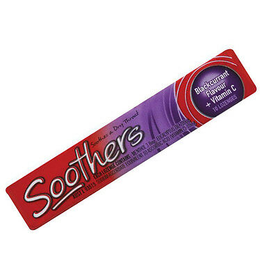Allens Soothers Blackcurrant Flavour - 10 Pack x 36