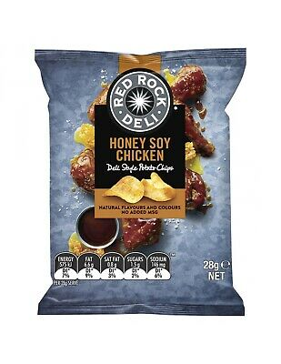 Red Rock Honey Soy 28g x 21