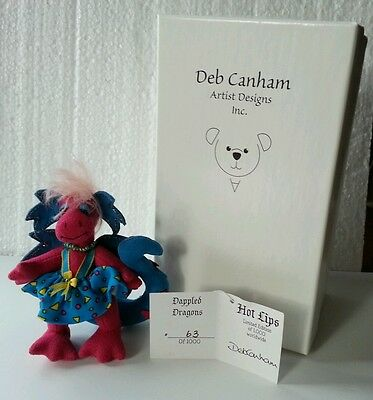 Deb Canham Dappled Dragons Hot Lips LE 63/1000