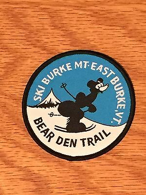 Defunct Bear Den Trail Ski Burke Mountain Vermont Old Style Patch