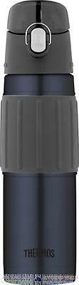 Thermos 14hr Cold Stainless Vacuum Drink Bottle 530ml Midnight Blue AUTHENTIC BN