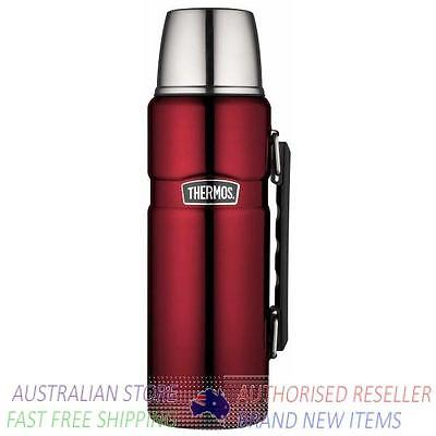 Thermos RED 2L Stainless King Insulated Flask AUTHENTIC