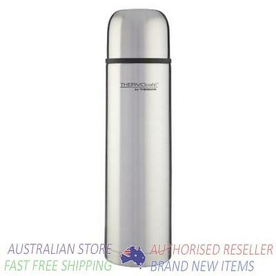 Thermos Slimline Vacuum Insulated Flask Stainless Steel  1L AUTHENTIC