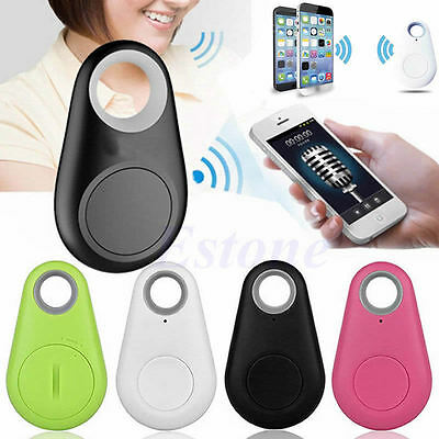 GPS Locator Smart Bluetooth Tracer Tag Alarm Wallet Key Pet Dog Key Tracker New
